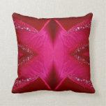 Dream Catcher Art - Rose Petal Graphics Pillows