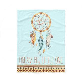 Dream Catcher Boho Baby Blanket