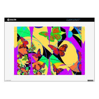 Dream Catcher Butterflies By Sharles Fine Ar Laptop Decal