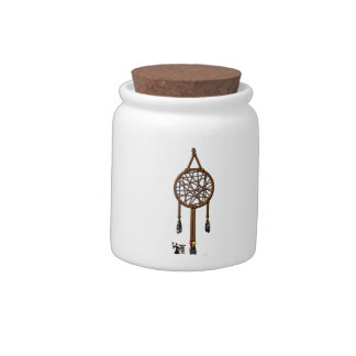 Dream Catcher Candy Jar