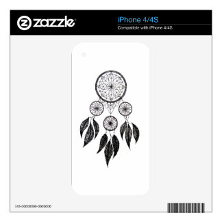 Dream Catcher Decals For iPhone 4S