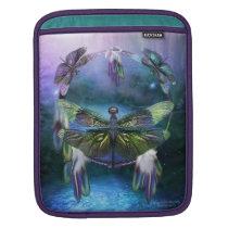 Dream Catcher - Dragonfly Spirit iPad Sleeve