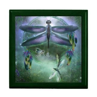 Dream Catcher - Dragonfly Wind Dancer Gift Box