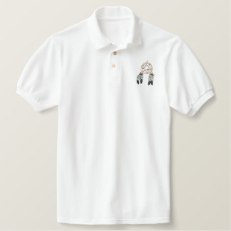 Dream Catcher Embroidered Polo Shirt