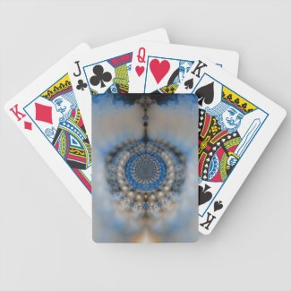 Dream Catcher Fractal Bicycle Playing Cards