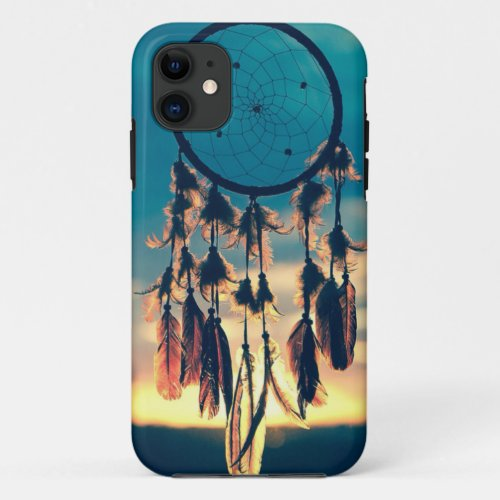 dream catcher in the sunset iphone 5/5s case Phone Case