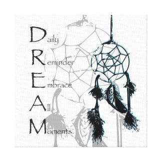 Dream Catcher Inspiring Canvas Print