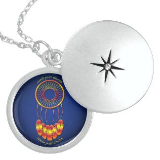 Dream Catcher Locket Necklace