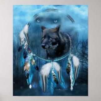 Dream Catcher - Midnight Spirit Posters