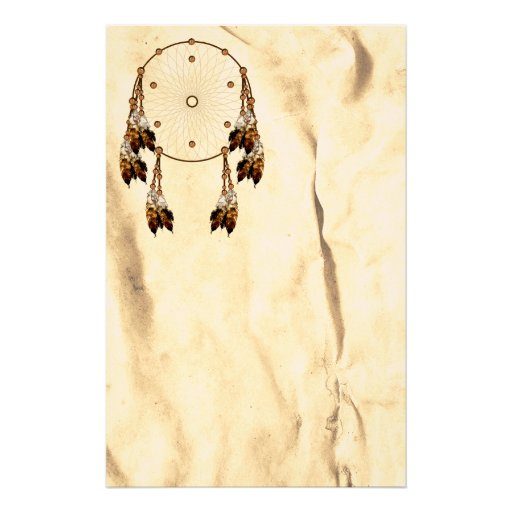 Dream Catcher  Native American  Stationery