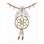 Dream Catcher Necklace Post Cards