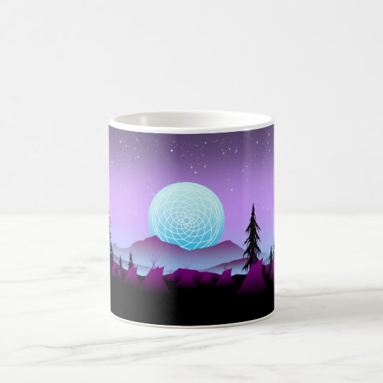 Dream Catcher Night Coffee Mug
