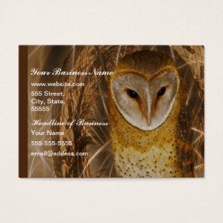 Dream catcher owl business card
