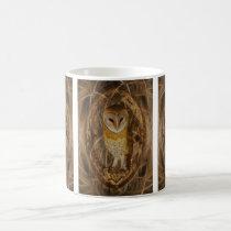 Dream catcher owl coffee mug