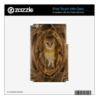 Dream catcher owl iPod touch 4G decals
