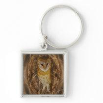 Dream catcher owl keychain