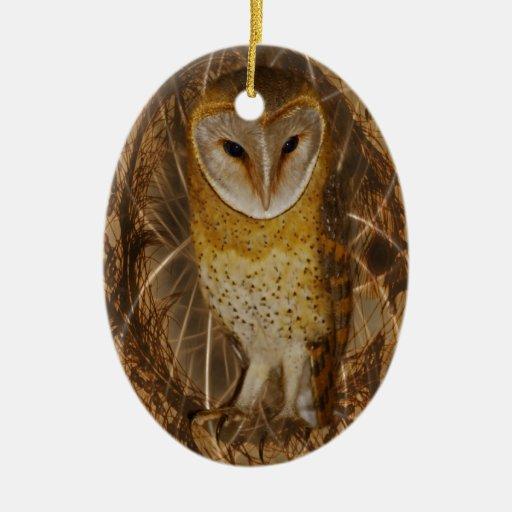 Dream catcher owl christmas tree ornaments