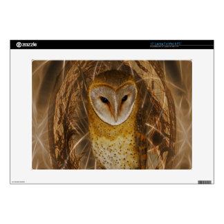 """Dream catcher owl skin for 15"""" laptop"""