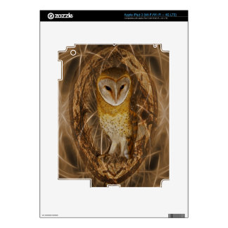 Dream catcher owl skin for iPad 3