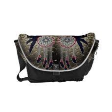 Dream Catcher Owl Small Messenger Bag