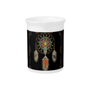 DREAM CATCHER Porcelain Pitcher