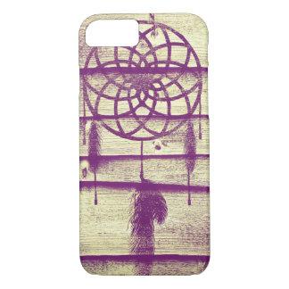 Dream Catcher Purple Wood iPhone 7 Case