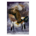 Dream Catcher Series - Spirit Eagle Poster/Print