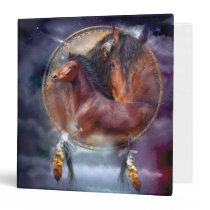 Dream Catcher Series - Spirit Horses Binder