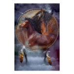Dream Catcher Series - Spirit Horses Poster/Print