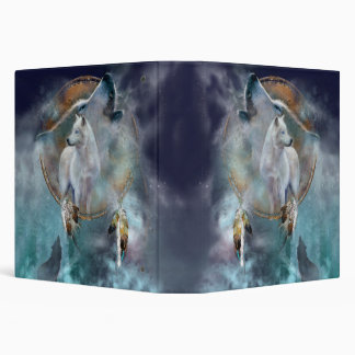 Dream Catcher Series - Spirit Wolf Binder