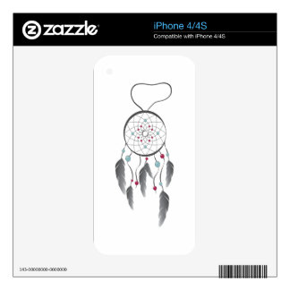 Dream Catcher Skin For The iPhone 4