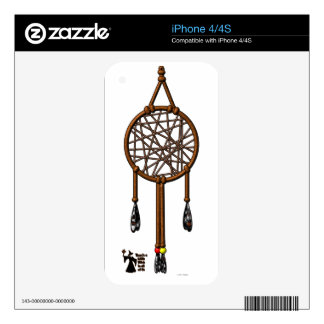 Dream Catcher Skins For iPhone 4