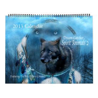 Dream Catcher - Spirit Animals 2 Art Calendar 2013