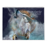 Dream Catcher Spirit Animals Art Calendar