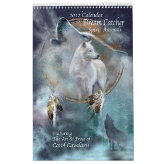 Dream Catcher - Spirit Animals Art Calendar 2012