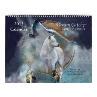 Dream Catcher - Spirit Animals Art Calendar 2013
