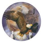 Dream Catcher - Spirit Eagles Art Stickers