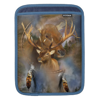 Dream Catcher - Spirit Elk iPad Sleeve