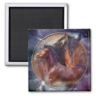 Dream Catcher - Spirit Horses Art Magnets