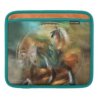 Dream Catcher - Spirit Horses iPad Sleeve