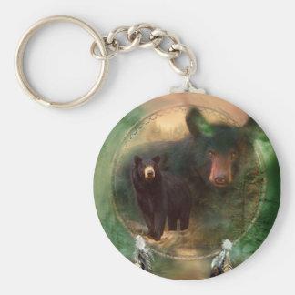 Dream Catcher - Spirit Of The Bear Keychain