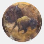 Dream Catcher-Spirit Of The Brown Buffalo Sticker