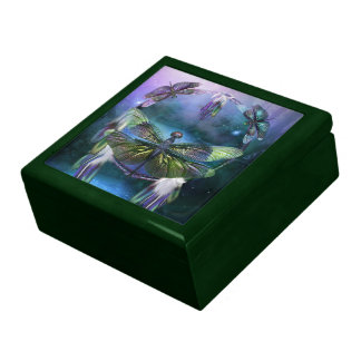 Dream Catcher-Spirit Of The Dragonfly Gift Box