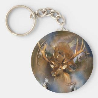 Dream Catcher - Spirit Of The Elk Keychain