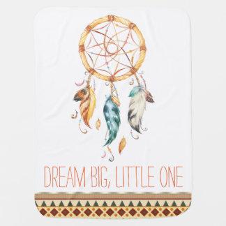 Dream Catcher Tribal Boho Baby Blanket
