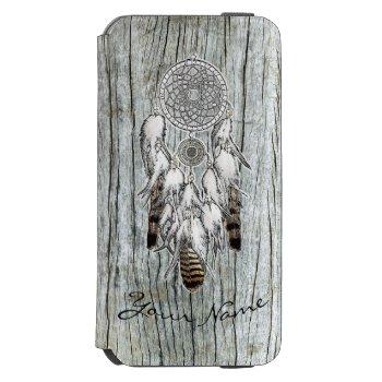 Dream Catcher Tribal Design iPhone 6/6s Wallet Case