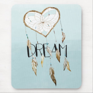 Dream Catcher Watercolor Mouse Pad