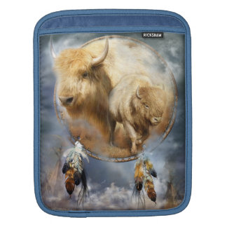 Dream Catcher - White Buffalo Spirit iPad Sleeve