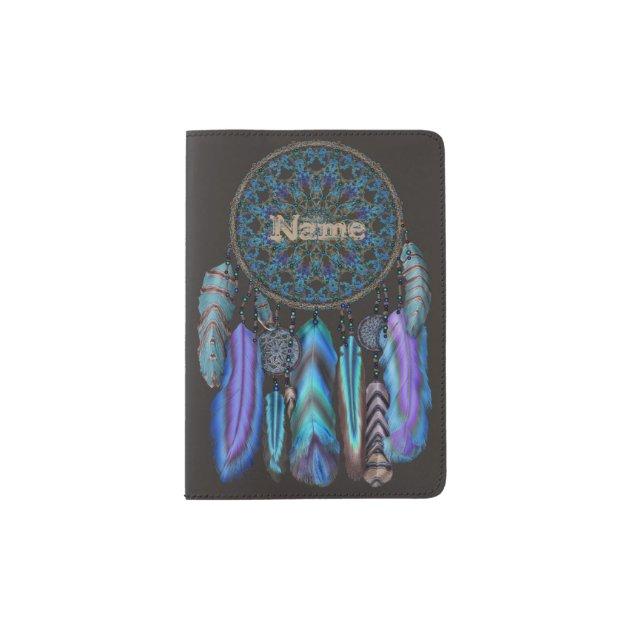 Personalized Chinoiserie Vinyl Passport Holder