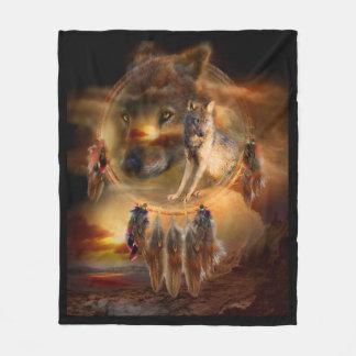 Dream Catcher - Wolfland Art Fleece Blanket
